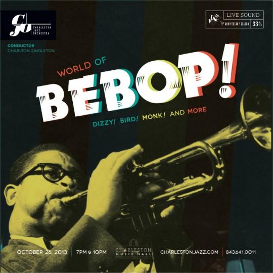bebop album cover