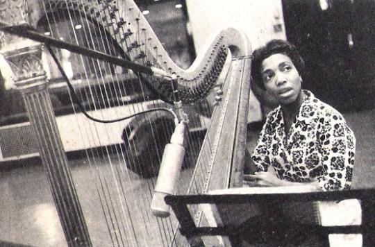 DorothyAshby Print shirt:Harp last.fm