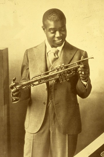 Louis Armstrong (early photograph)